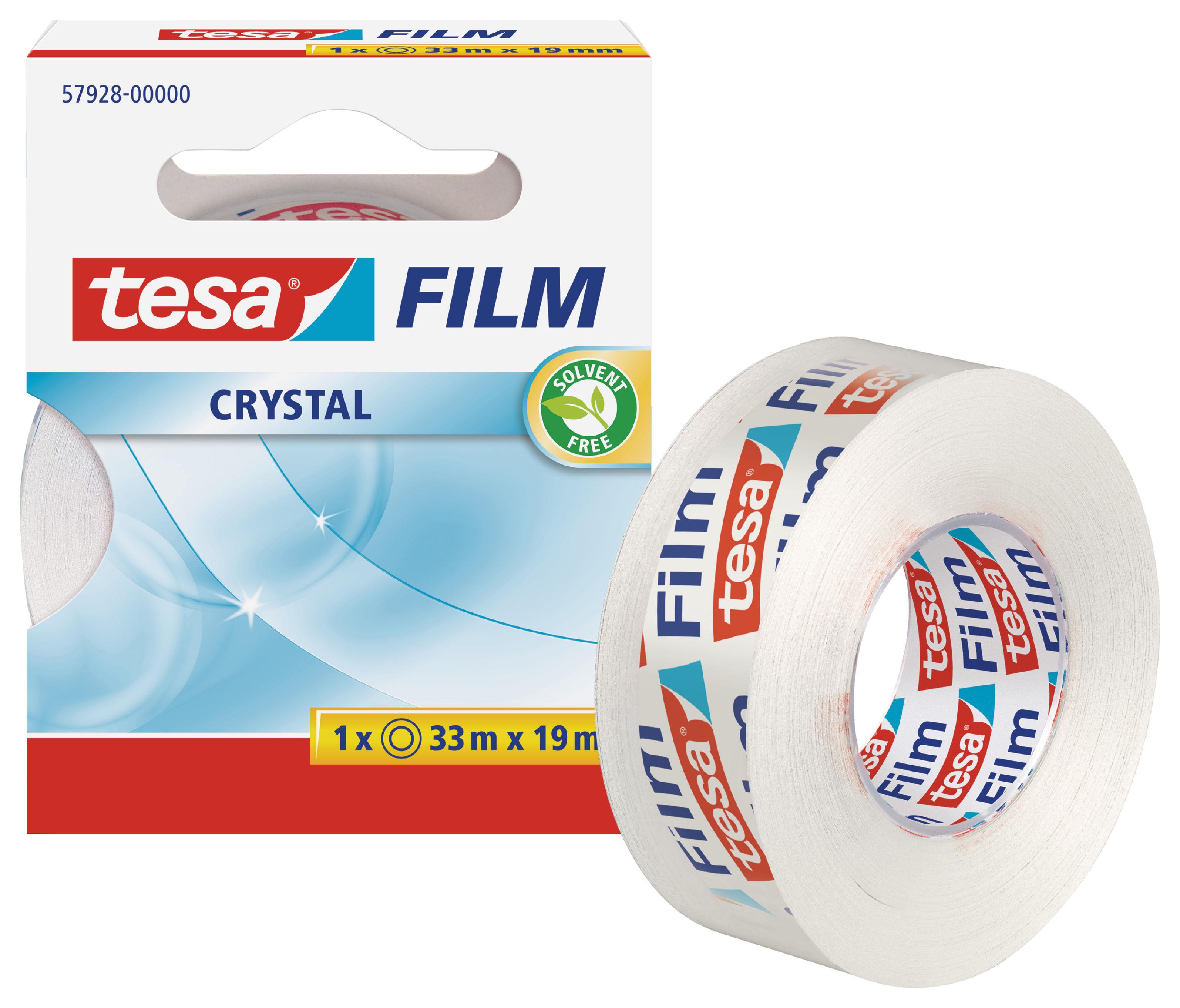 Clear Tape tesafilm Crystal Tape 19mm x 33M 57928