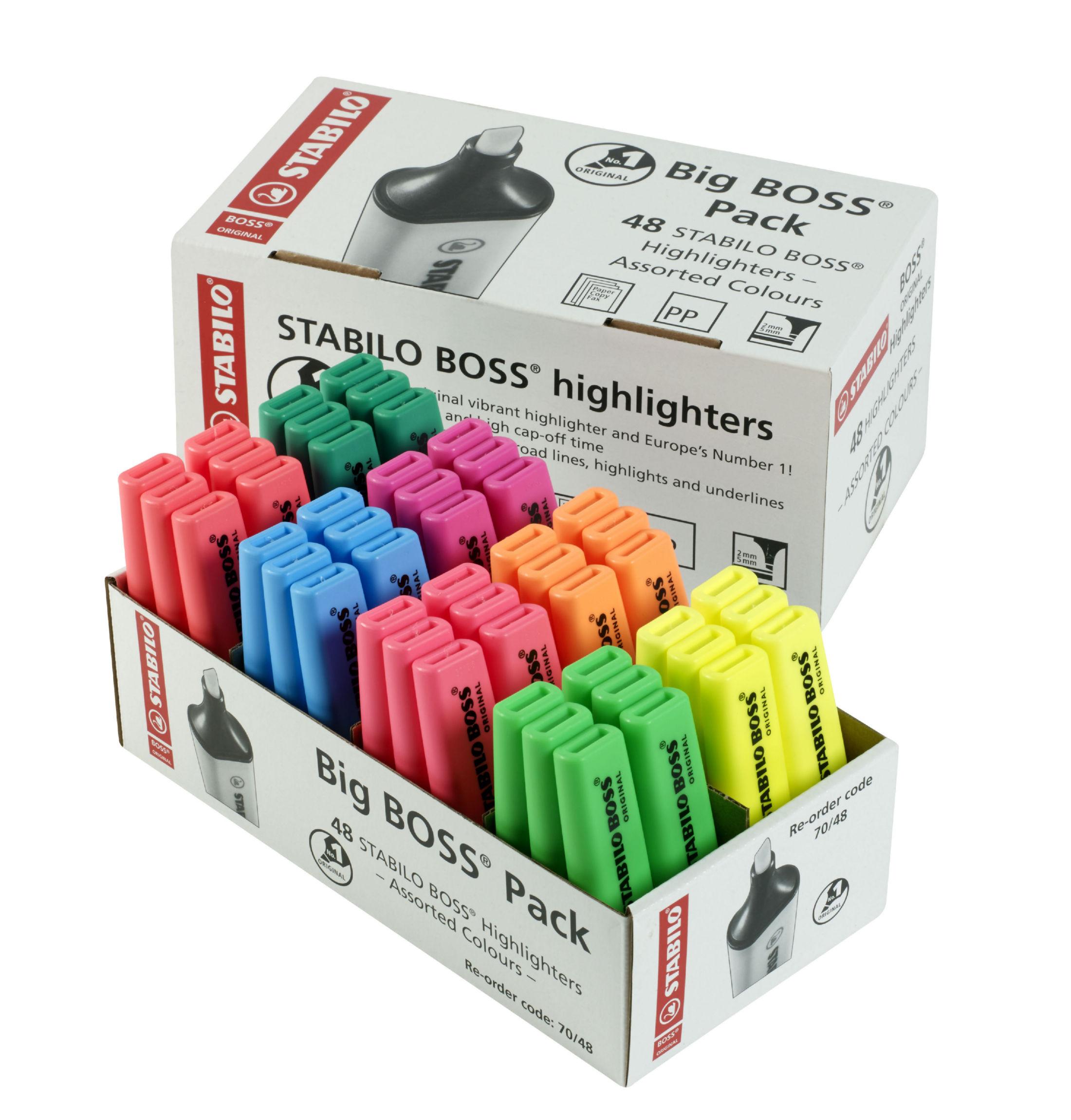 BOSS Highlighter 8 Clrs PK48