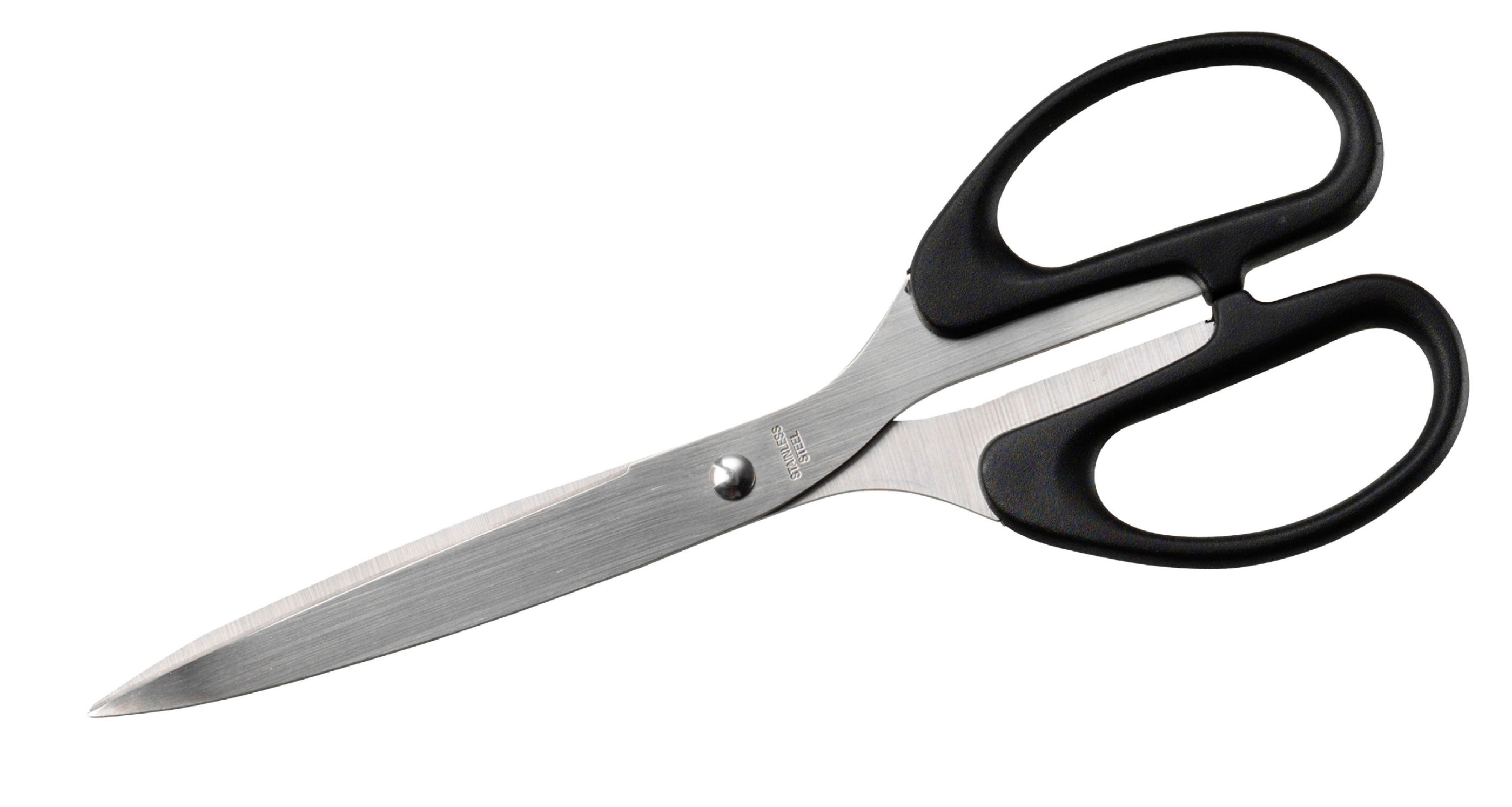 Scissors ValueX Scissors Black Handle 8 inch /203mm