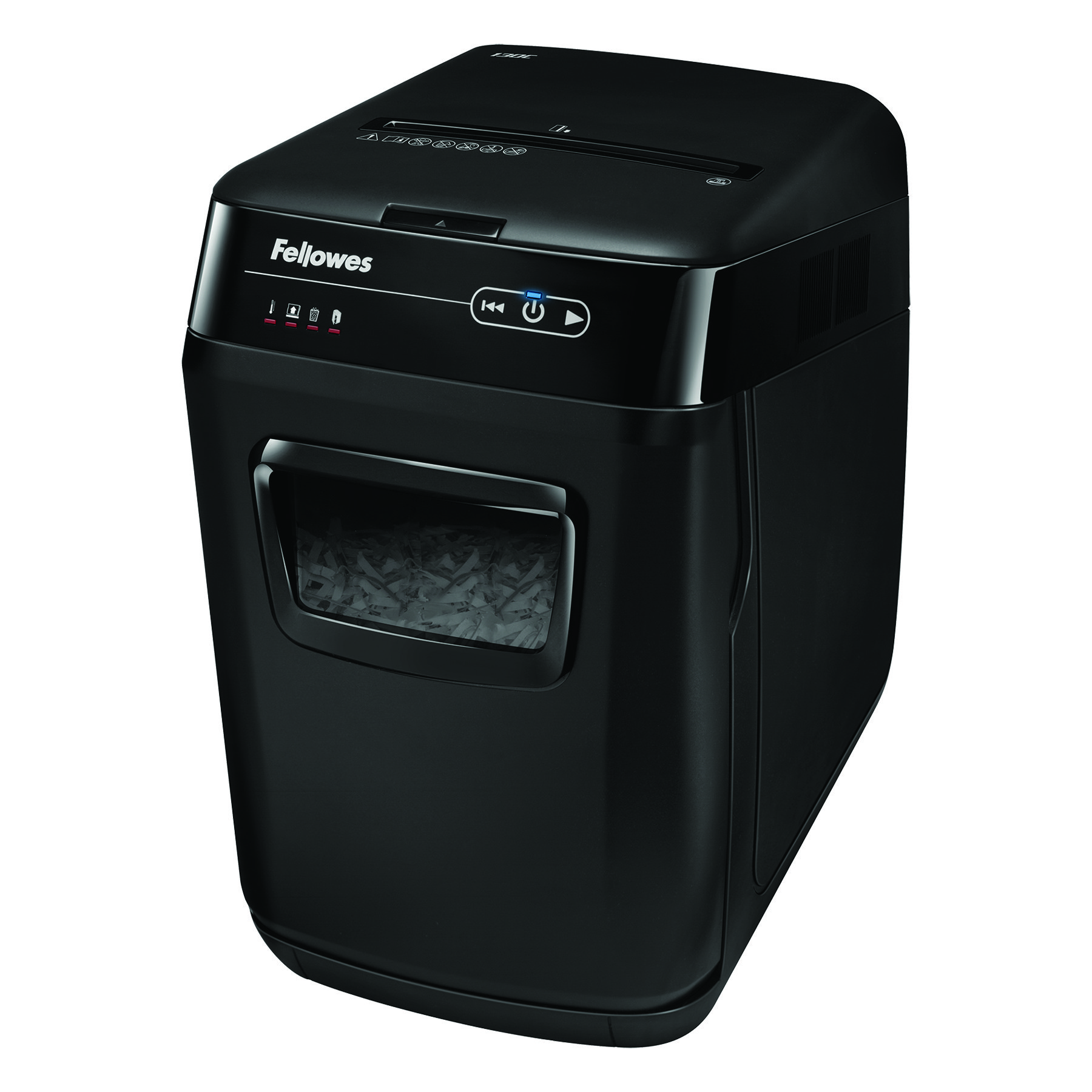 Fellowes AutoMax 130C Professional Shredder 4x51mm Cross Cut 32 Litre P-3 130 Sheets Ref 4680201