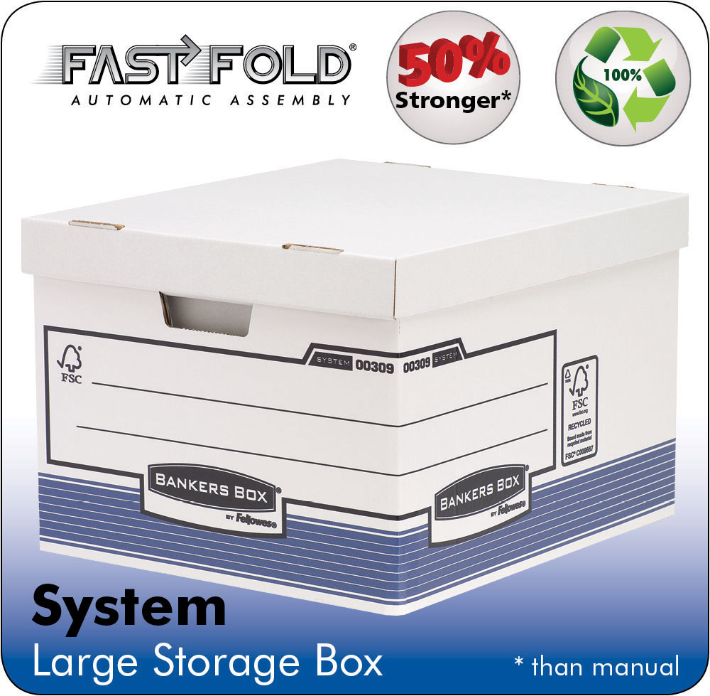 System Large Storage Box Grey PK10
