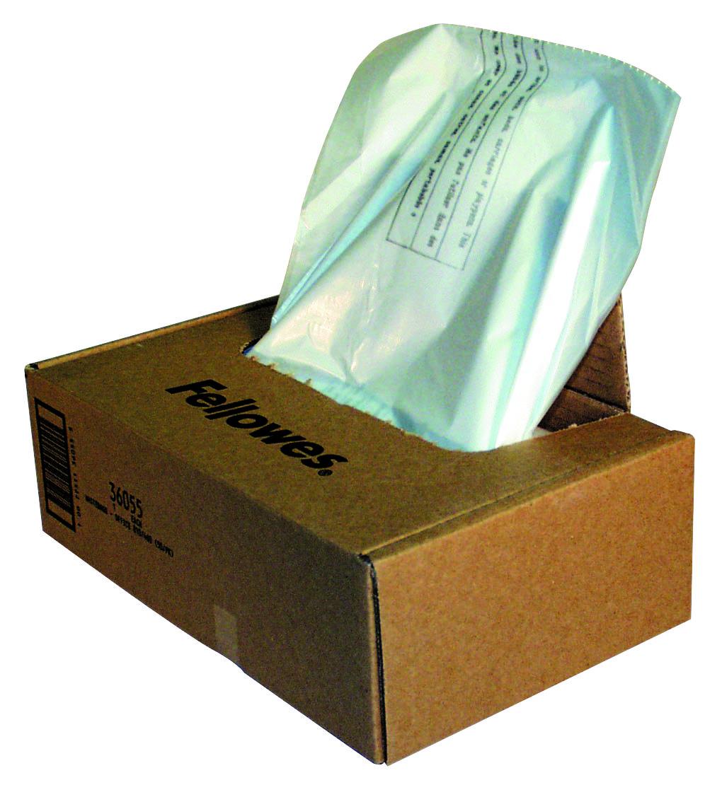 Bags / Sacks Fellowes Shredder Bag for C380andC480 Shredders 36055 PK50