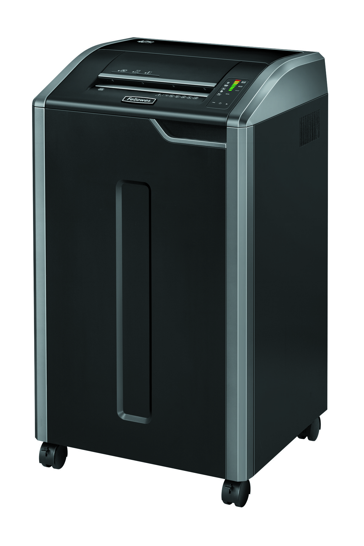 Fellowes Black 425i Strip-Cut Shredder