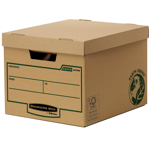 Fellowes Bankers Box Earth Series Box Heavy Duty (Pack of 10) 4479901