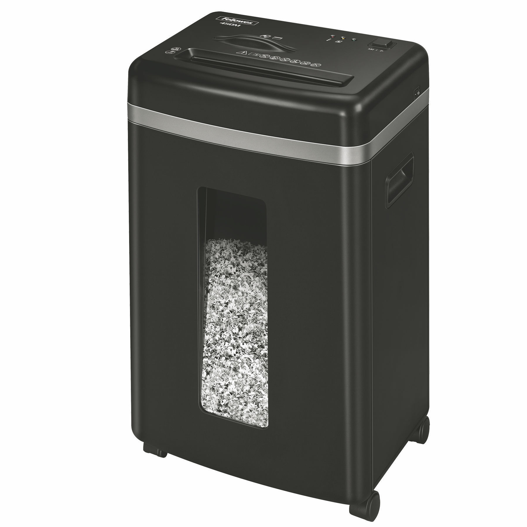 Shredders Fellowes Powershred 450M Micro Cut Shredder