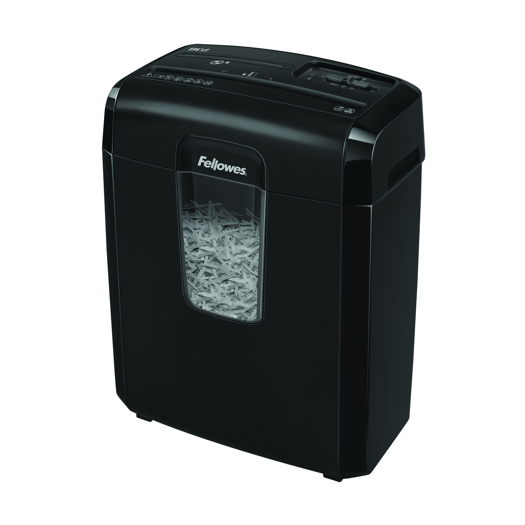 Shredders Fellowes Powershred 8CD Cross Cut Shredder