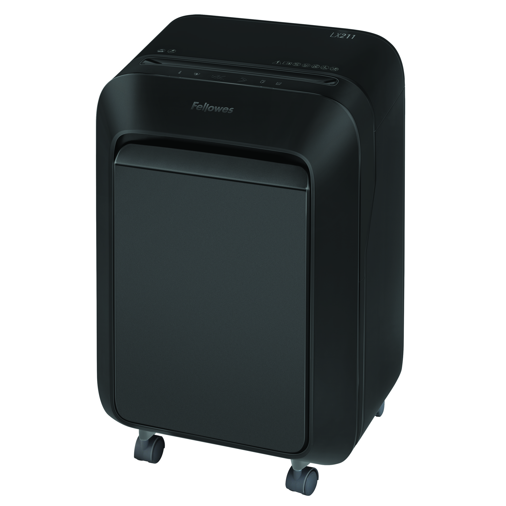 Shredders Fellowes Microshred LX211 Black Shredder