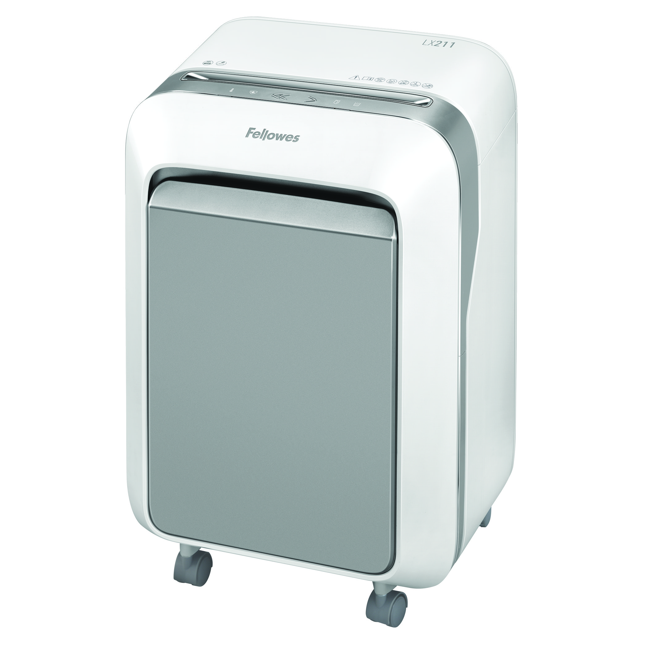 Fellowes Microshred LX211 White Shredder