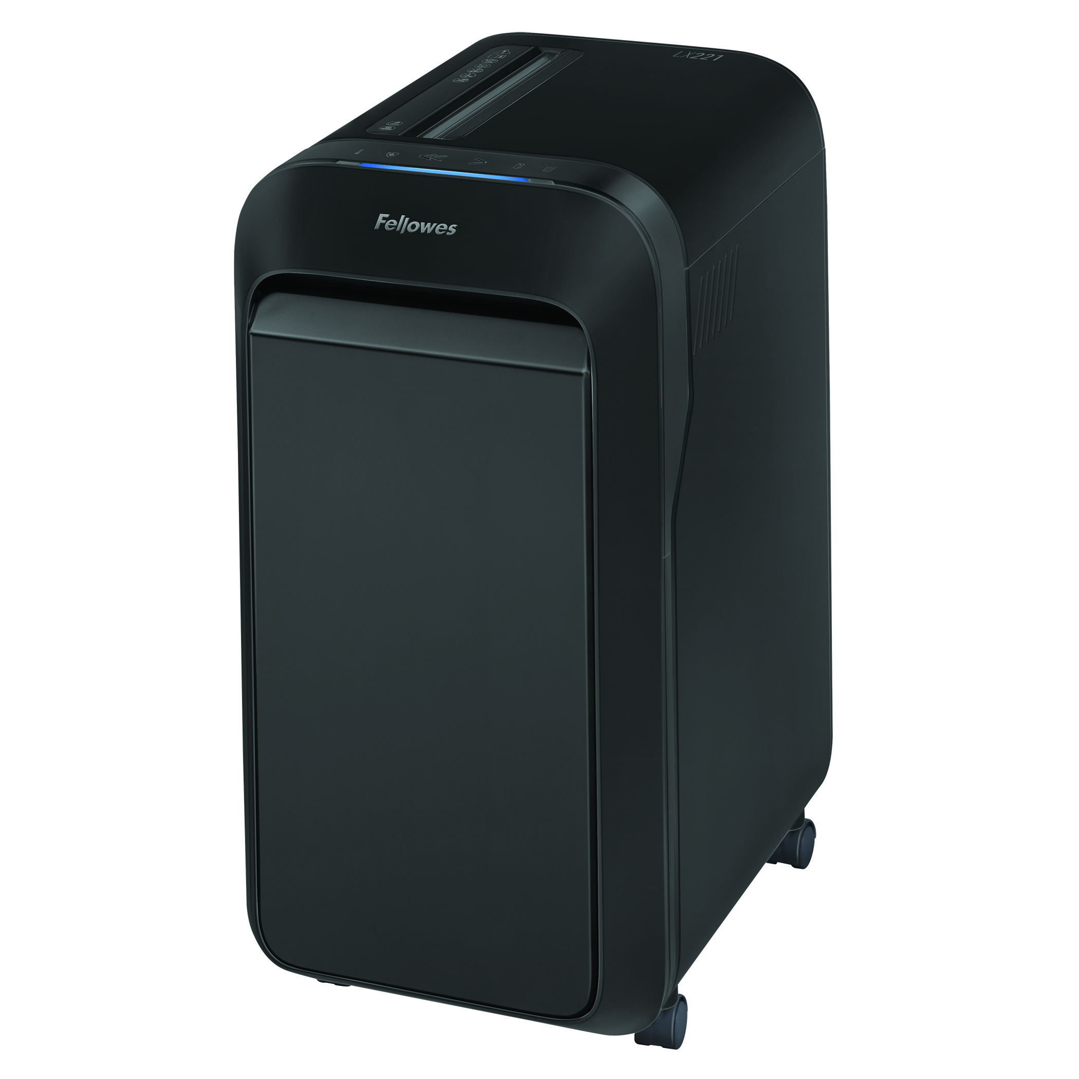 Shredders Fellowes Microshred LX221 Black Shredder