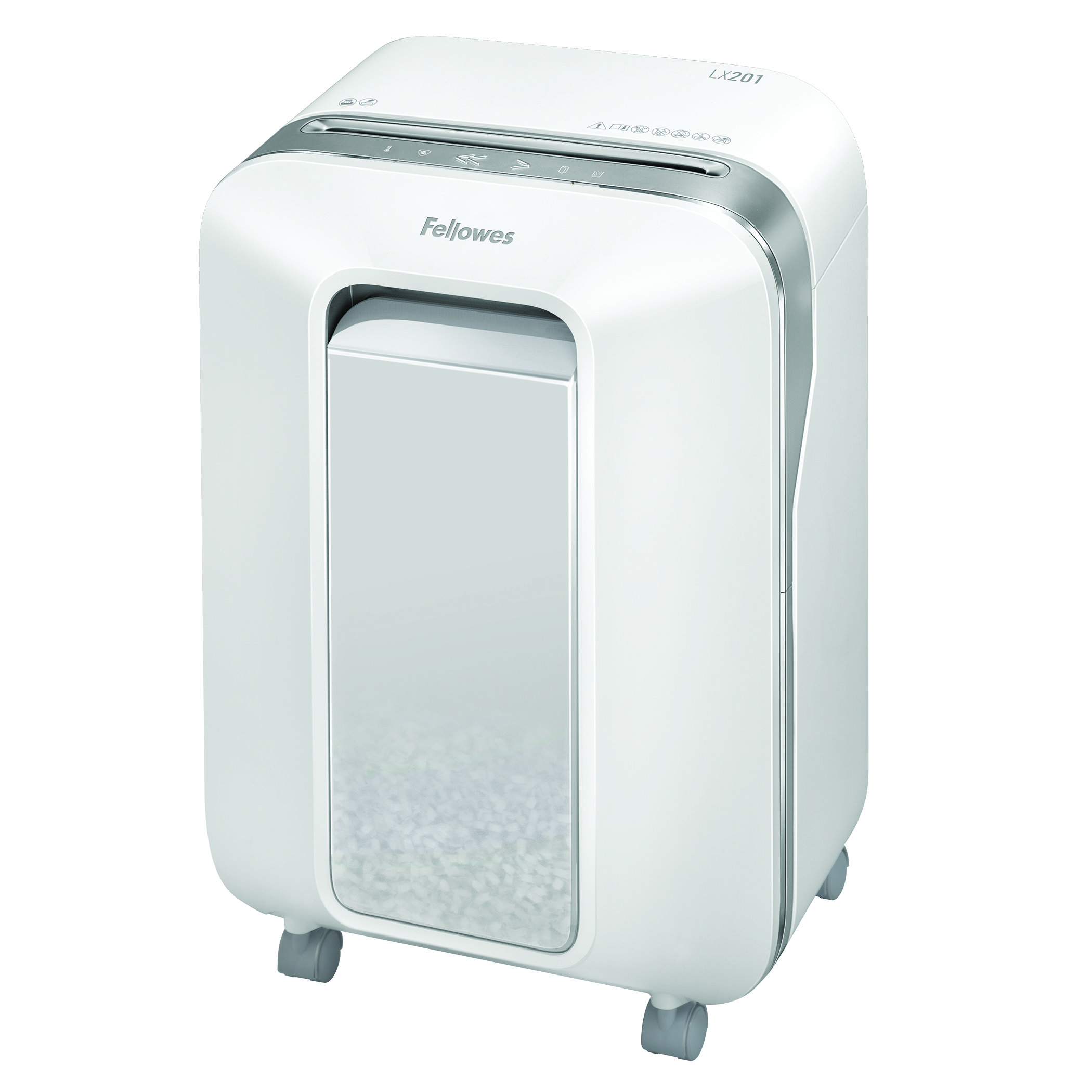 Shredders Fellowes Microshred LX201 White Shredder