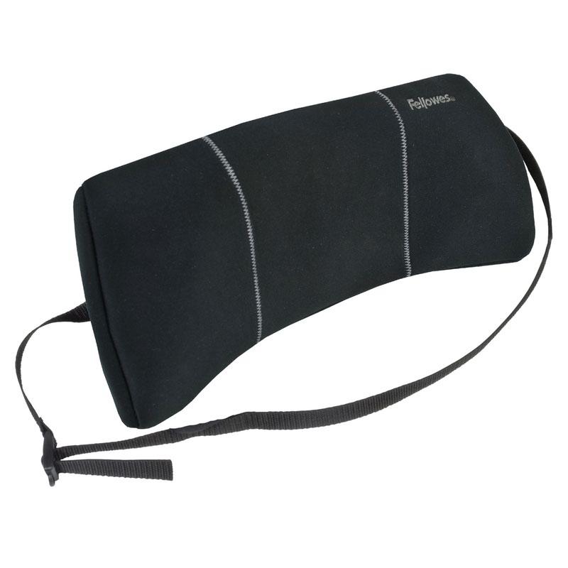 Chair Fellowes Portable Lumbar Back Support Black 9190701