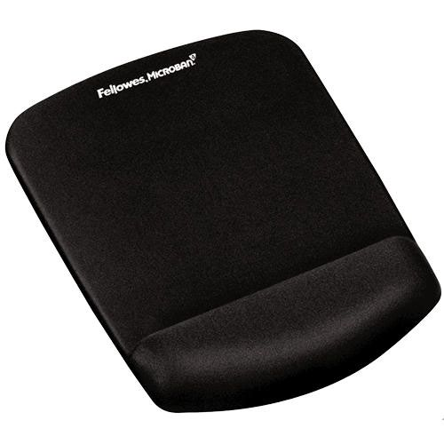 Wrist Rests Fellowes PlushTouch Mousepad Wrist Support Black