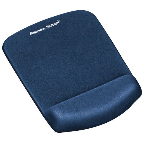 Wrist Rests Fellowes PlushTouch Mousepad Wrist Support Blue