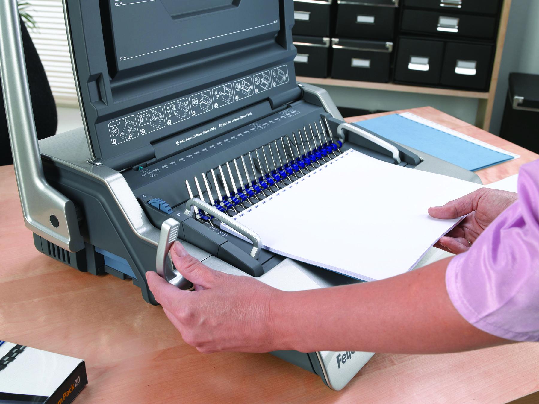Fellowes Galaxy Electric Comb Binding Machine 5622101