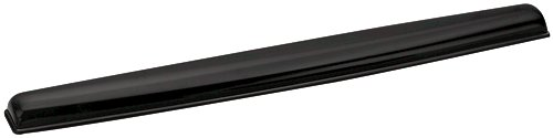 Fellowes Crystal Keyboard Wrist Rest Black 9112201