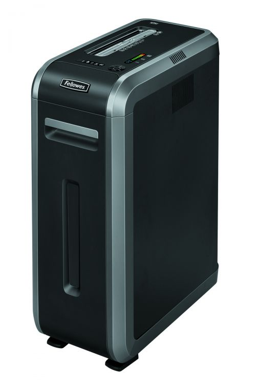 Fellowes Black 125i Strip-Cut Shredder