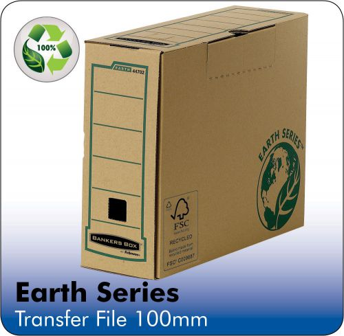 Fellowes Earth Brown Transfer File Pk20
