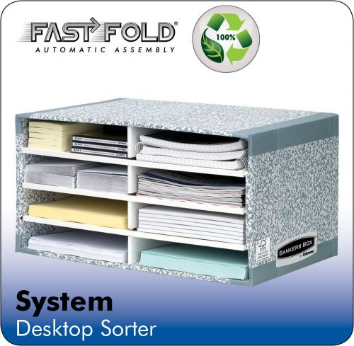 Fellowes Bankers Box Desktop Sorter Ref 08750 [Pack 5]