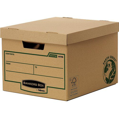 Fellowes Earth Standard Storage Box 4470601 - (PK10)