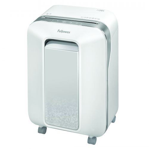 Fellowes Microshred LX201 White Shredder