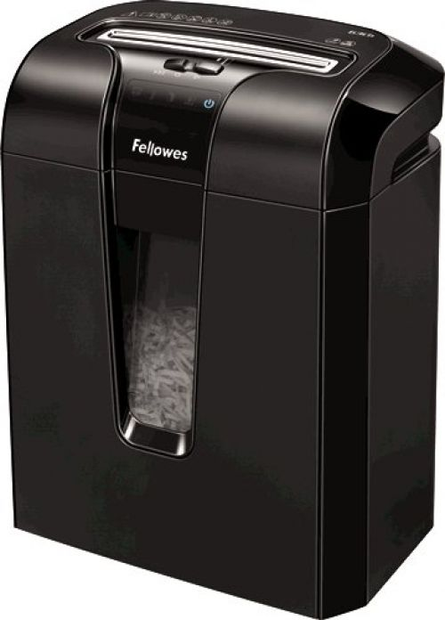 Fellowes Black 63Cb Cross-Cut Shredder