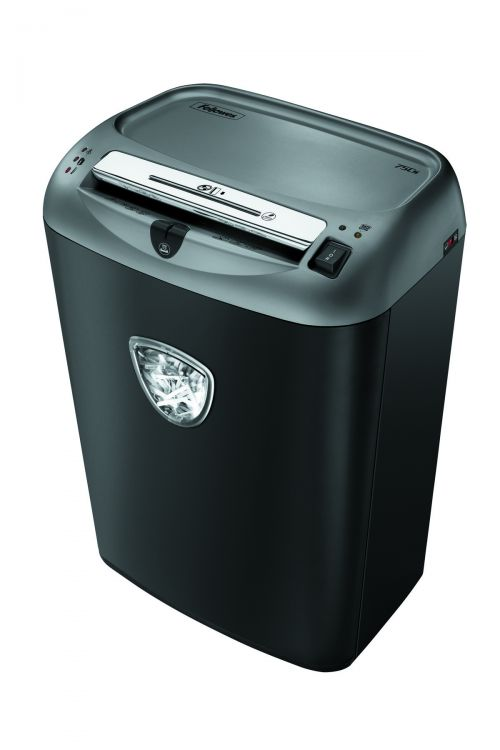 Fellowes Black 75CS Cross-Cut Shredder