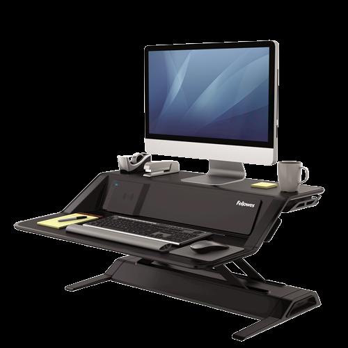 Lotusâ ¢ DX Sit-Stand Workstation - Black