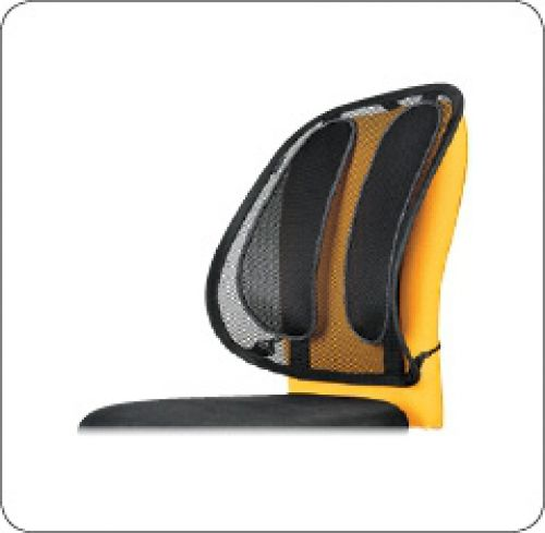 Fellowes Black Mesh Back Support 9191301