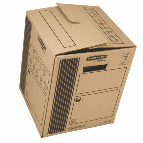Fellowes Classic Cargo Storage Box 300x370x 300mm Ref 6206402 [Pack 10]