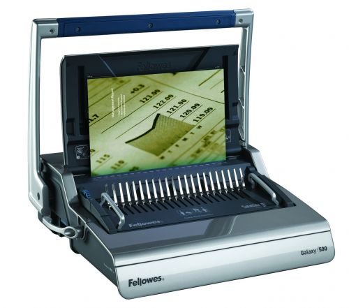 Image for Fellowes Galaxy Man Comb Binding Machine