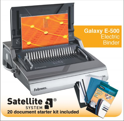 Image for Fellowes Galaxy-E 500 Electric Comb Binder Ref 5622101