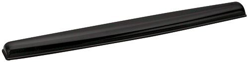 Fellowes Crystal Keyboard Wrist Rest Gel Black Ref 9112201