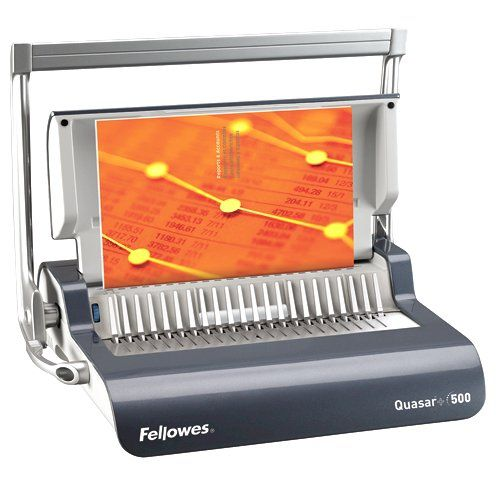 Image for Fellowes Quasar Mnl Binding Machine