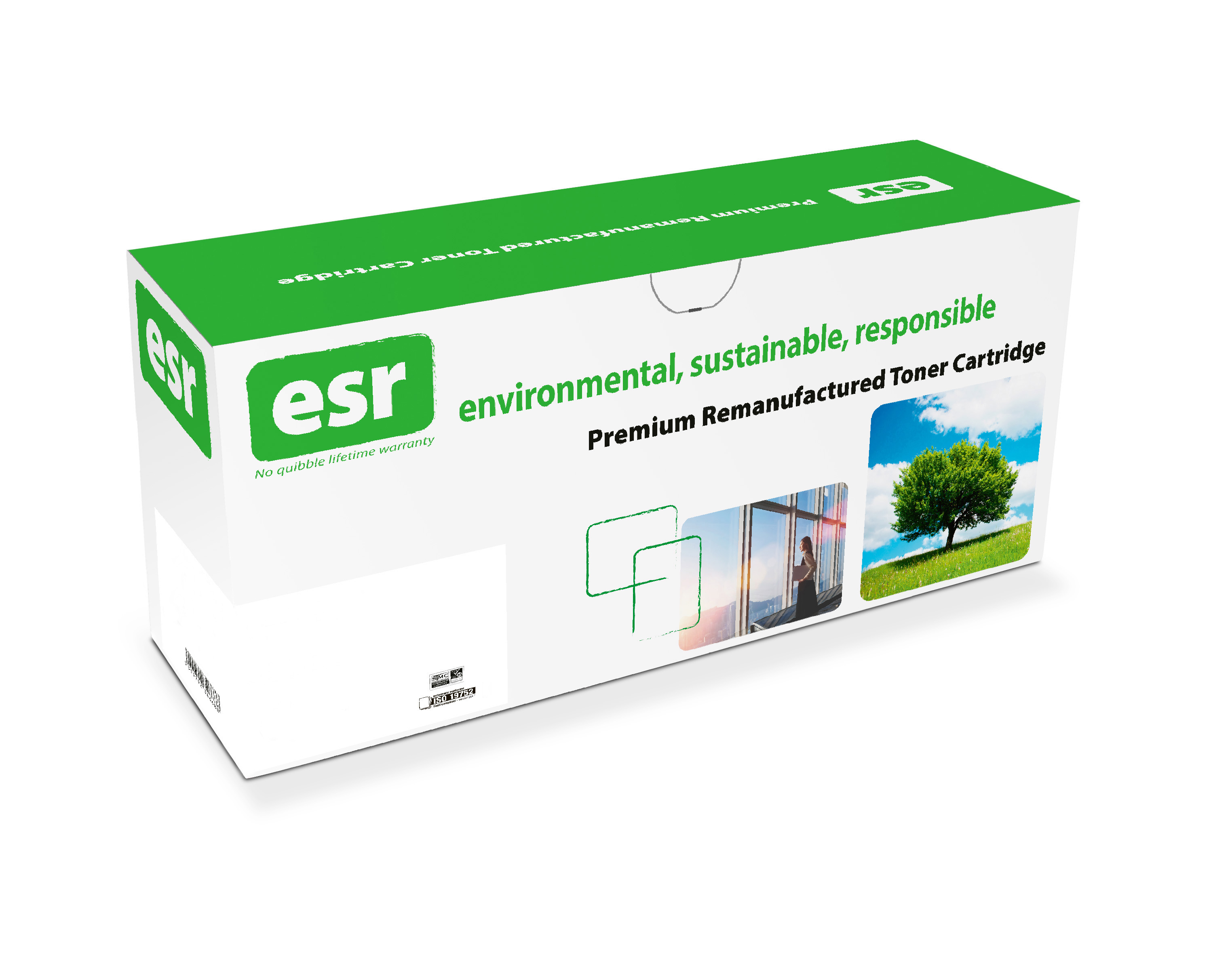 esr Remanufactured HP CB540A Black Toner 2.2K
