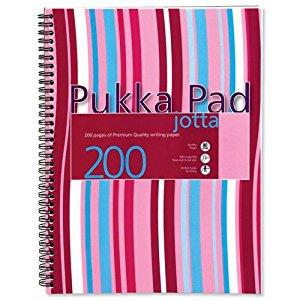 Pukka Jotta Wire A4 Poly Cover Asst PK3