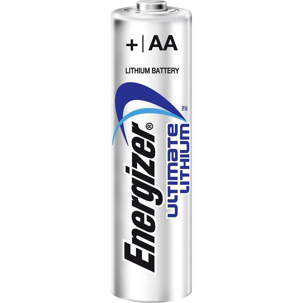 AA Energizer Ultrimate Lithium Battery AA PK4