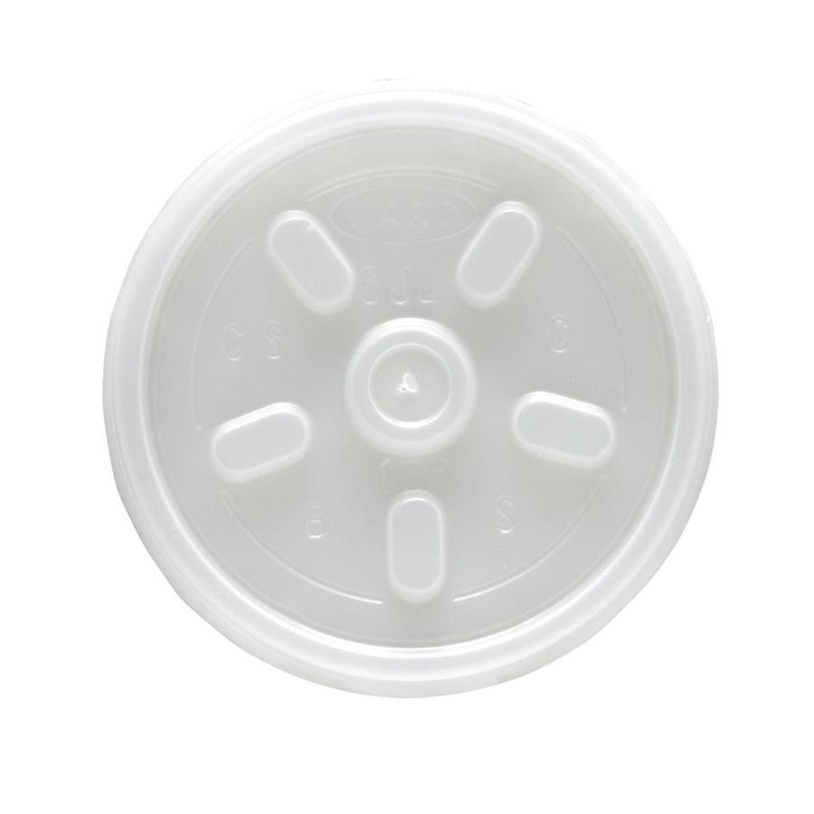 Disposable Cups & Accessories ValueX Insulated Drinking Cup Lid 7oz (Pack 100)