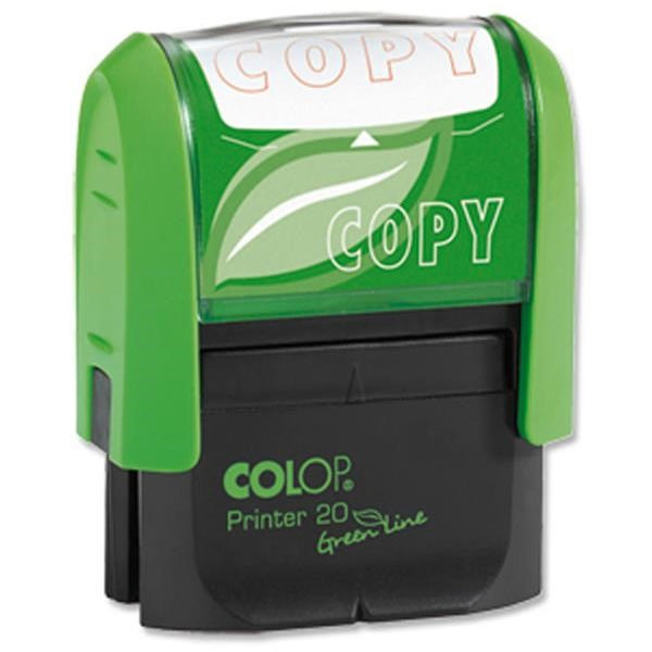 Colop Word Stamp Green Line Copy RD