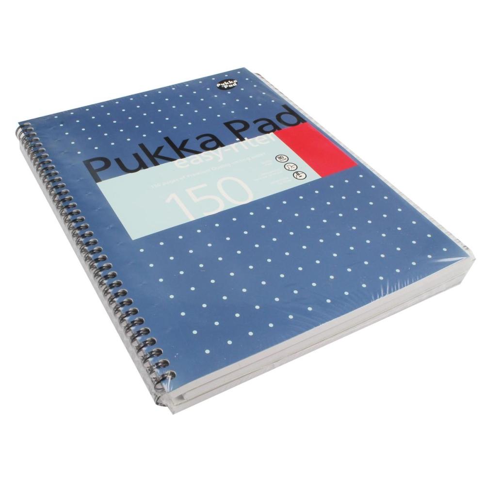 Puka Easy-Riter Metallic A4 Pad PK3