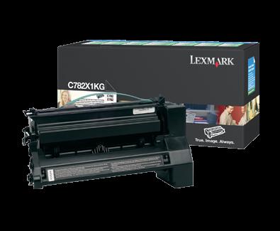 Lexmark C782/X782 15K Black Return Cartridge