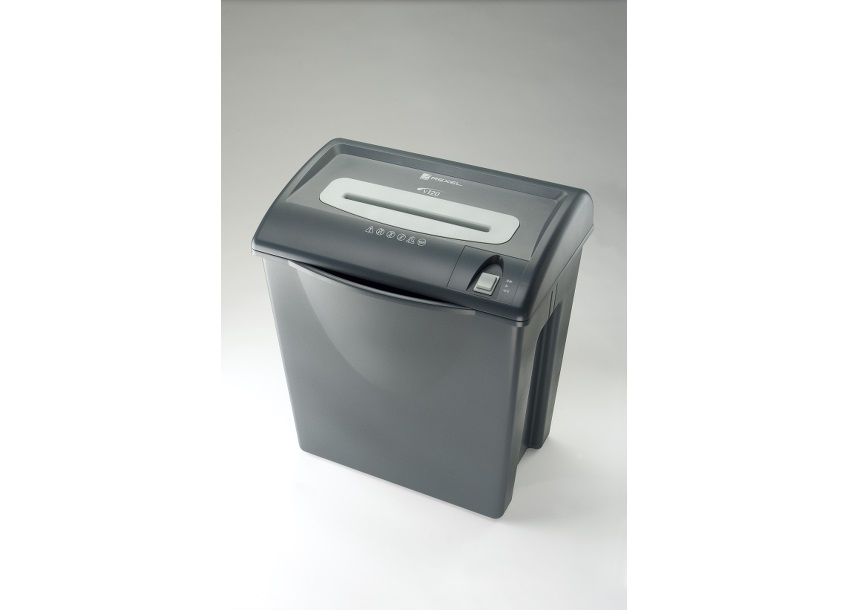 Image for Rexel V125 Shredder with Reverse 4x34mm Cross Cut 35 Litre 7x80gsm A4 W420xD280xH485mm Ref 2100884
