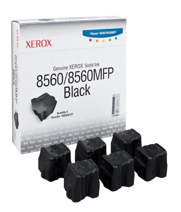 Xerox 8560 Black 6 Packs