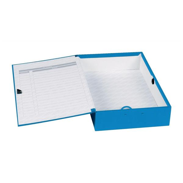 Box Files Concord Classic Box File Foolscap Blue PK5