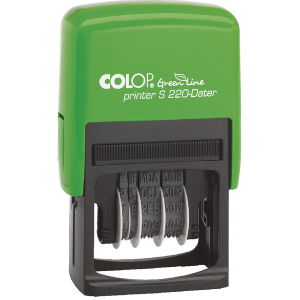 Colop S220 Green Line Date Stamp