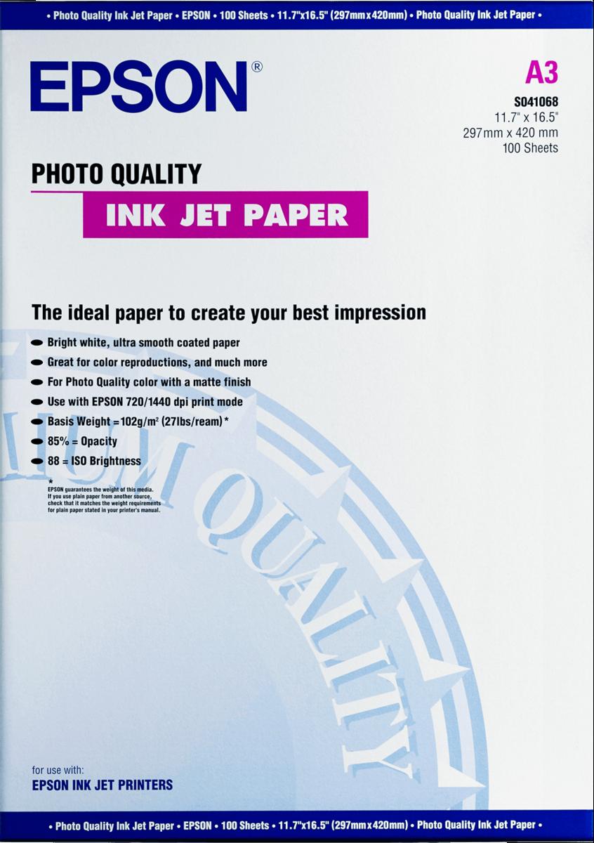 PHOTO QUALITY INKJET A3 100 SHEETS