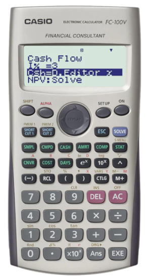 Casio FC-100V 12-Digit Financial Calculator