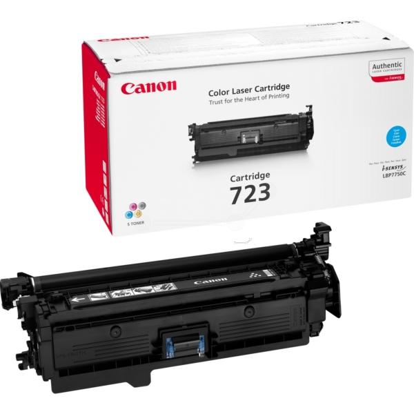 Canon 723C Laser Toner Cartridge Page Life 8500pp Cyan Ref 2643B002