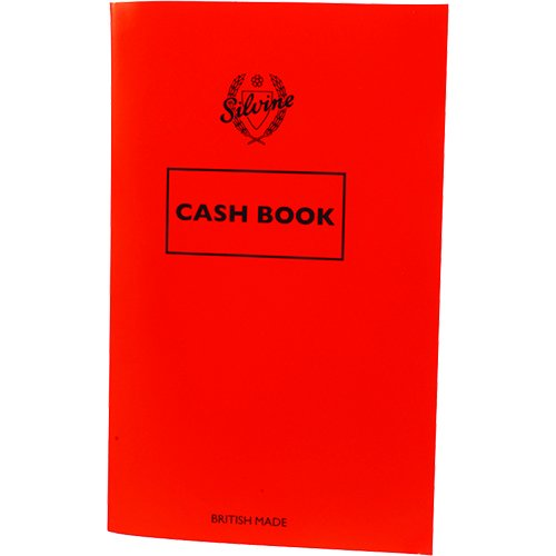 Silvine Cash Book 159X95MM 36LF PK24