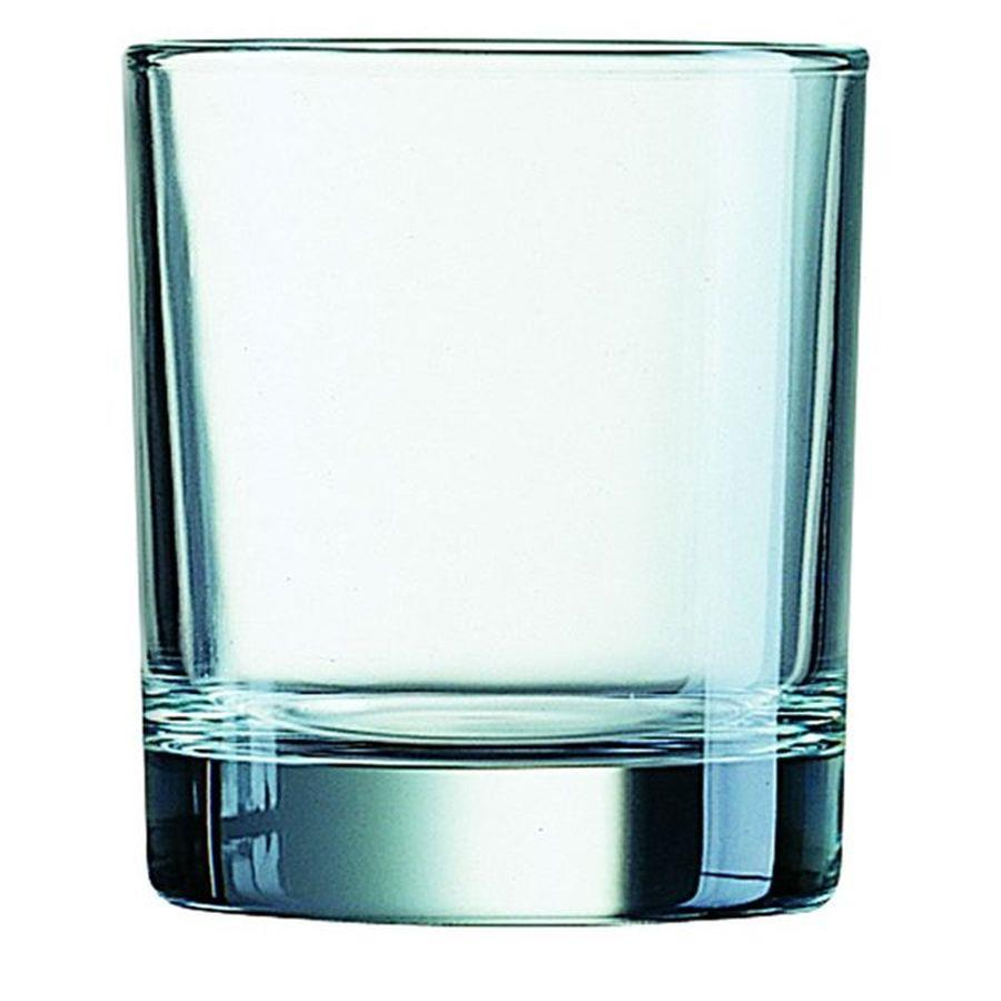Disposable Cups & Accessories ValueX Glass Squat Tumbler 10.5oz (Pack 6)