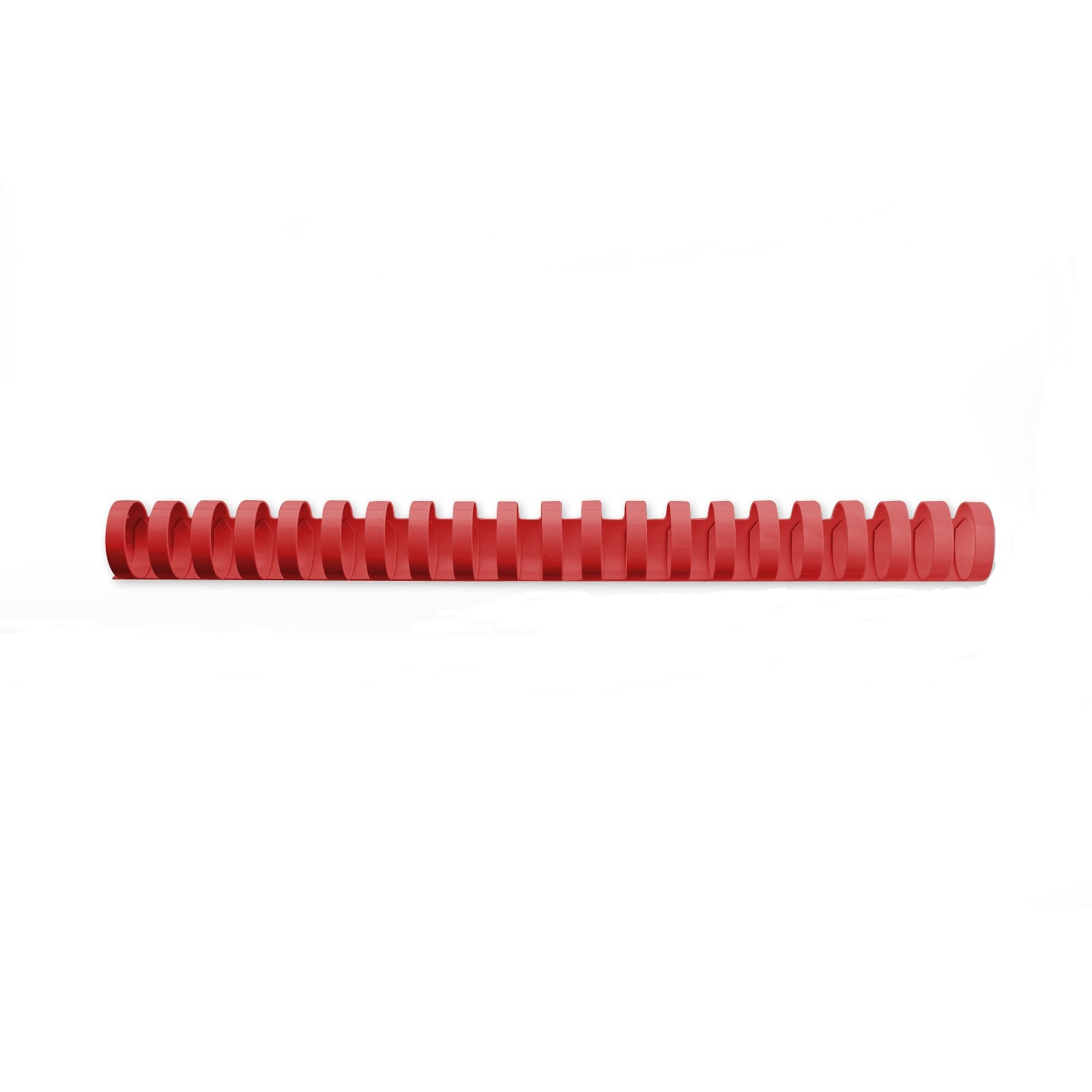 GBC Binding Combs 21 Ring A4 12mm Red 4028217 (PK100)